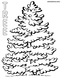 Christmas Tree Coloring Books by Tree Coloring Pages Coloring Pages To Download And Print