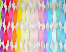 Birthday Decorations Party Table Decor Decoration Paper Streamer Crepe DIY Backdrop Banner Baby