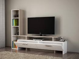wohnwände fernseh schrank tisch für wohnzimmer i weiß