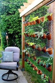 Recycled Pallet Vertical Garden With Pots Photo 19 Creative Ways To Plant A How