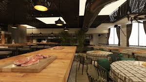 100 Exposed Ceiling Design The Interior Of A Modern Restaurant With