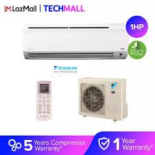 daikin 1hp non inverter wall mount air conditioner ftv28pv1l rv28fv1p r32
