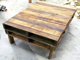 Pallet Wood Table Coffee Best Of Two Rustic