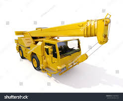 Truck Mounted Crane Stock Illustration 230043652 - Shutterstock