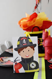 Sound The Alarm For The Ultimate Fire Truck Birthday Party ...