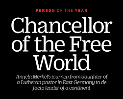 TIME Person Of The Year 2015 Angela Merkel