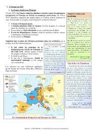 cours histoire moderne l1 la et l europe en 1815 4ème cours histoire pass