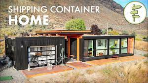 104 Container Homes Living In An Ultra Modern Shipping Home Built With 4 X 20ft Used S Youtube