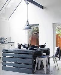 ilot cuisine palette ilot central palette inspirations et design ilot cuisine roulant