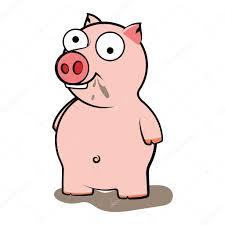 Cerdo Sucio Para Colorear