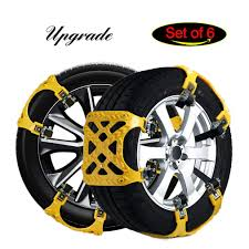Amazon.com: Snow Chains For SUV, Tire Chains For Trucks Emergency ...
