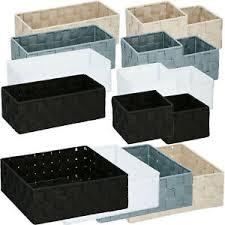 details zu aufbewahrungskorb 4er set ablagekorb aufbewahrung ablage korb bad küche 15144