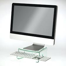 Imac Monitor Desk Mount by Imac Monitor Stand Buy Bamboo Stand Monitor Riser Desktop