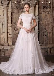 Country Western Wedding Dresses Lace Applique 2017 Vintage