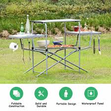 Foldable Camping Table Outdoor Kitchen Portable Grilling Stand Folding BBQ  Table Outdoor Furniture OP3688 Fold Up Camping Table And Seats Lennov 4ft 12m Folding Rectangular Outdoor Pnic Super Tough With 4 Chairs 120 X 60 70 Cm Blue Metal Stock Photo Edit Camping Table Light Togotbietthuhiduongco Great Camp Chair Foldable Kitchen Portable Grilling Stand Bbq Fniture Op3688 Livzing Multipurpose Adjustable Height High Booster Hot Item Alinum Collapsible Roll Up For Beach Hiking Travel And Fishing Amazoncom Portable Folding Camping Pnic Table Party Outdoor Garden