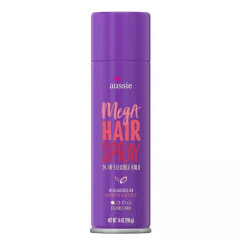 Aussie Mega 24 Hour Flexible Hold Hair Spray - 14oz