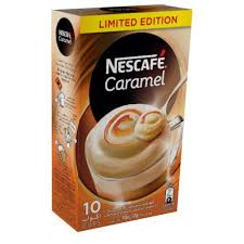 Grocety Nescafe Cappuccino Caramel Instant Foaming Mix