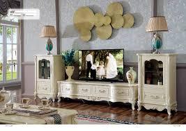 wohnwand aus massivholz in barock stil kaufen