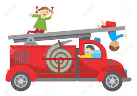 Three Children Playing On The Fire Truck Illustration Royalty Free ... Kids Ii Having A Ball Roll Pop Fire Truck Teays Valley Wv At American Plastic Toys Rideon Gift Toddler Car For Power Wheels Paw Patrol Ride On Toy 12 Buy Push Along Engine Childrens 30 Trunki Frank The Suitcase Red Now Keezi Table And Chair Set Children Wooden Fniture 3583 Bytes Wildkin Olive Box Reviews Wayfair Personalised Classic For Oodlique Learn About Trucks Educational Video By