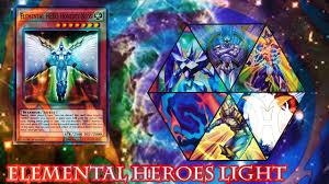 elemental heroes masked hero power of the light 2017 youtube