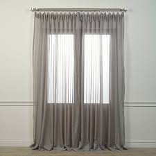 120 Inch Long Sheer Curtain Panels by Amazon Com Half Price Drapes Shch Vol1 96 Sldw Doublewide Voile