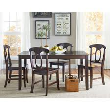 standard furniture larkin 5 piece dining room set in antique