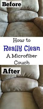 Who knew these two ingre nts could pletely clean a microfiber couch