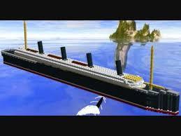 r m s lusitania lego being torpedoed youtube