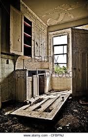 Interior Of Abandoned Farmhouse Saskatchewan Canada