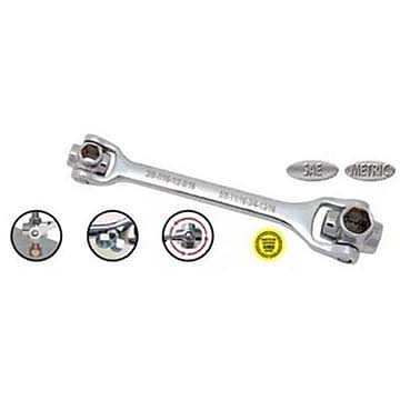Master Mechanic 8 in 1 Metric Wrench Sockets Set
