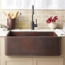 Farmhouse 30 Copper Apron Front Sink
