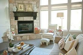 This Neutral Family Room Is Open To The Dining And Kitchen