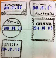 Editable Passport Stamps Template Rebe With A Clause