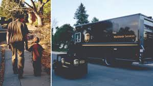 UPS Wishes Delivered Campaign Gives A Little Boy A Child-sized UPS Truck