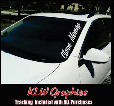 CLEAN MONEY Windshield Banner Sticker Car Diesel Truck JDM Euro ... Decals For Cars And Trucks 11 Best Images About Windshield On Car Visor Decal Sticker Graphic Window How To Apply A Sun Strip Etc Youtube Supplies Creative Hot Charm Handmade 2017 New Laser Reflective Letters Auto Front Dodge Challenger Graphicsstripesdecals Streetgrafx Product Gmc Truck Motsports Windshield Topper Window Decal Sticker Dirty Stickers Amazoncom Dabbledown Like My Ex Buy 60 Supergirl V4 Powergirl Girl Dc Comics Logo Printed Yee 36 Granger Smith Store Quotes Quotesgram
