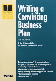 Amazon.com: Writing A Convincing Business Plan (Barron's Business ...