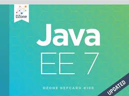 Java Decorator Pattern Reader by Java Enterprise Edition 7 Dzone Refcardz