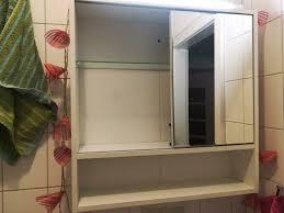 alibert badezimmer spiegelschrank schrank weiß