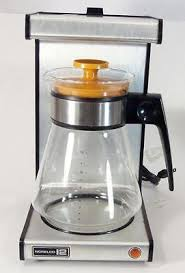Vintage Norelco Dial A Brew Coffee Maker Machine 12 Cup Glass Decanter Working