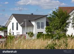 100 Modern Rural Architecture Garden Fence House Stock Photo