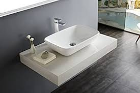 bernstein badshop aufsatzbecken aufsatz waschbecken nt3155