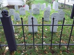 Halloween Cemetery Fence by Cheap Fence Finials