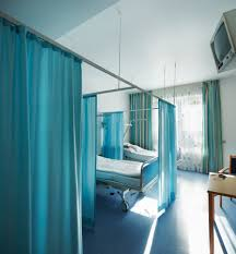 Cubicle Curtain Track Singapore by Hospital Curtains