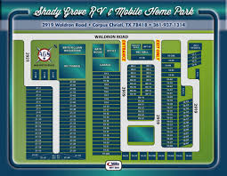 Shady Grove Park Layout