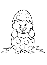 Excellent Cracked Egg Coloring Page By Affordable Article