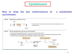 Chair Conformation Of Cyclohexane Ppt by Chair Conformation Of Substituted Cyclohexane 100 Images