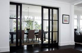 Fabulous Sliding Dining Room Doors Glass For Elegant Home Interior
