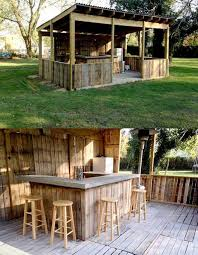 Outdoor Pallet Barthese Are The BEST DIY Ideas