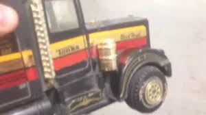 Vintage Tonka Black Hawk Semi Truck Friction Car Toy - YouTube