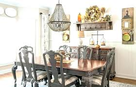 Farmhouse Dining Room Decor E Style Fall Tour Vintage Images Of